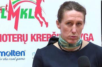 J. Štreimikytė-Virbickienė: didelis noras – šitos komandos stiprybė (VIDEO)